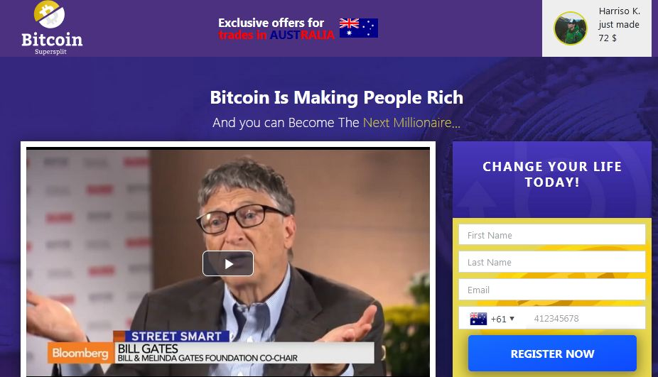 Bitcoin SuperSplit 1