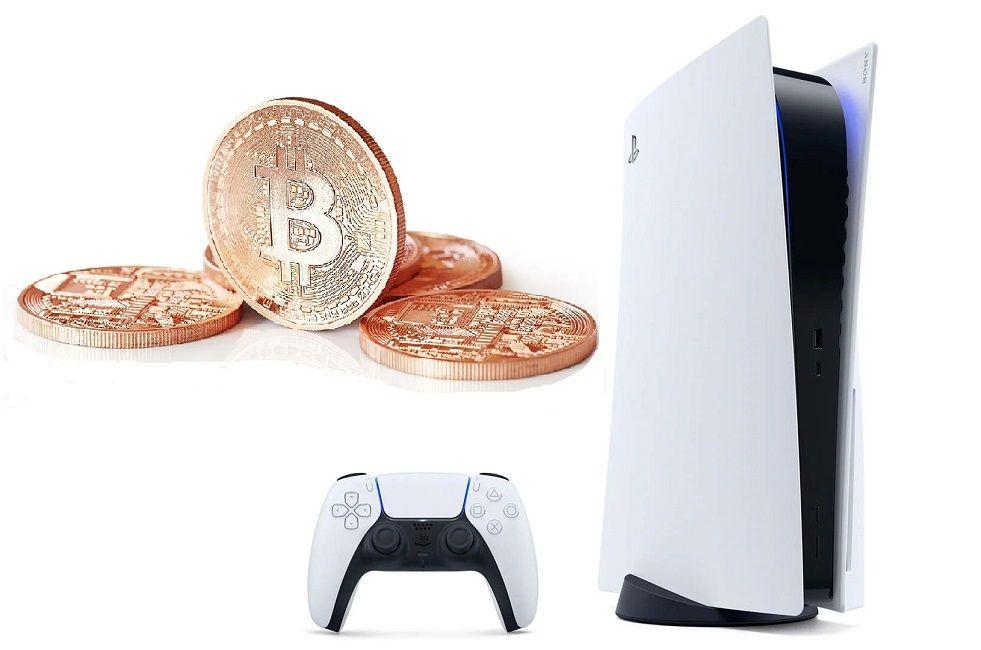 PS5 Crypto Mining