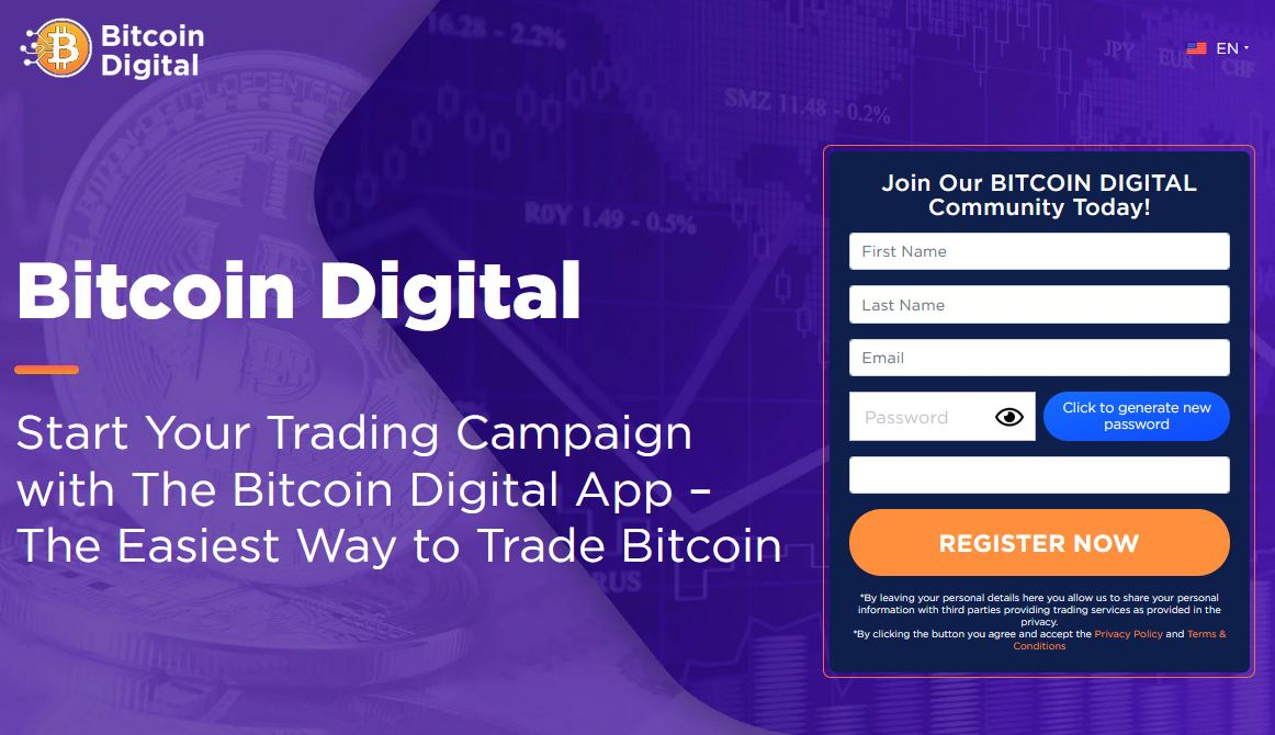 Bitcoin Digital App
