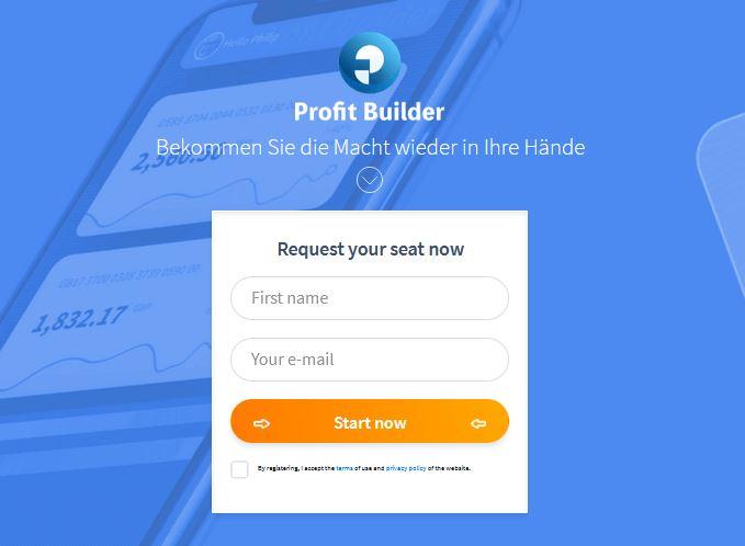 Profit Builder App 2